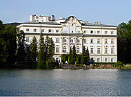 Leopoldskron castle - Home of the Von Trapp family in the movie