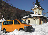 Bob's Bus on Tour in Winter